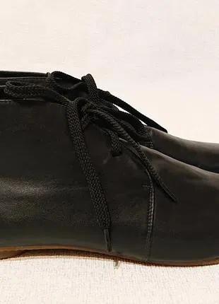Женские кожаные демисезонные ботинки like show, 40 р, кожа