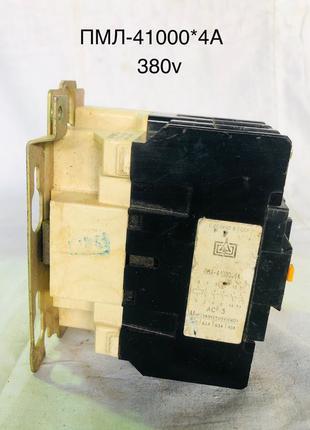 Пускатель ПМЛ-4100 О*4А 63А 380В