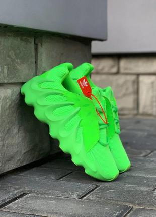 Мужские кроссовки adidas yeezy boost 451 green
