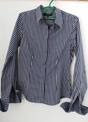 Стильная  рубашка под запонки laura ashley.
