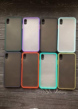 Матовый Silicone case чехол на айфон iphone 6/7/8/7 Plus/X/Xr/11