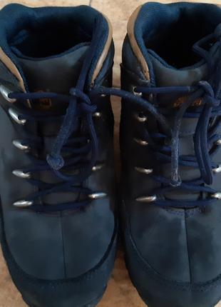 Осенне-зимние ботинки от Timberland на мальчика-31 р
