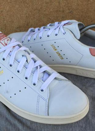 Новые кроссовки adidas stan smith кожа оригинал 40о кеды
