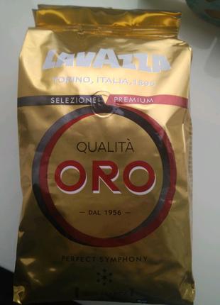 Lavazza Oro Оригинал в зёрнах 1кг.