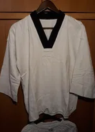 Кимоно + пояса для тхэквондо ( боевые искусства )