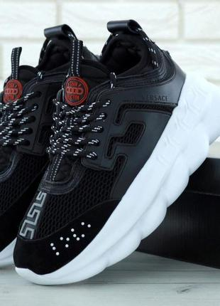 Кроссовки женские versace chain reaction sneakers