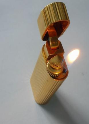*ВИДЕО*Оригинальная и редкая зажигалка Cartier mini 1990 (5.9 см)