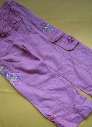 Штаны бриджи marks&spencer на 4-6лет,отличное состояние