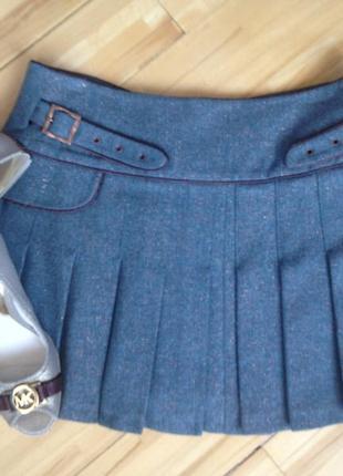 Шерстяная юбка  bessini италия