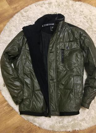 Мужская деми куртка пуховик демисезонная курточка