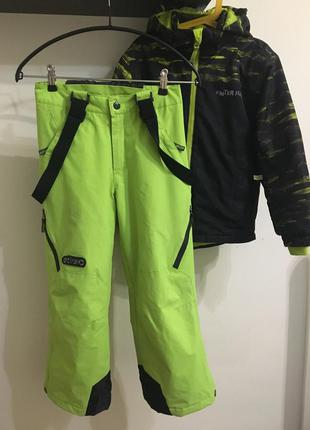 Штаны лыжные etirel 128см зимние штаны