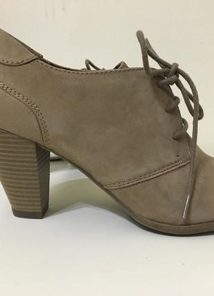 Туфли ботинки ботильоны 5-th avenue 38/5 кожа