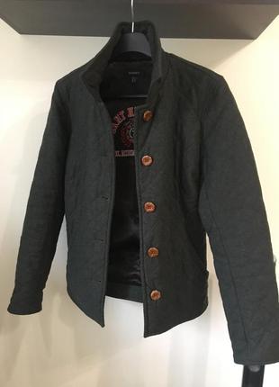 Куртка пальто gant s шерстяное пальтишко