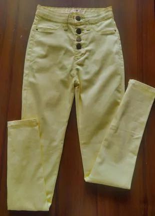 Стильные женские джинсы летние стрейч, котон