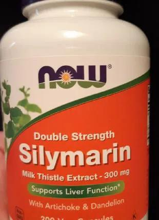 Расторопша Силимарин (Silymarin), Now Foods, 105 капсул