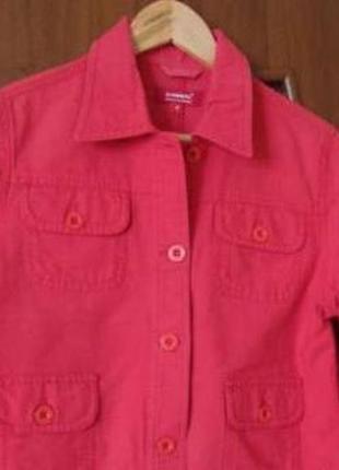 Куртка-пиджак красного цвета