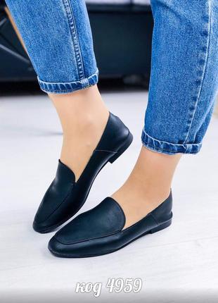 Лофери лоферы балетки кожаная стелька туфли туфлі шкіряна устілка