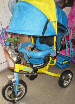 Детский трехколесный велосипед Turbo Trike M 5361 01 UKR