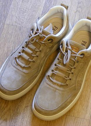 Замшевые мужские кроссовки р.44 (стопа 27,5 см)