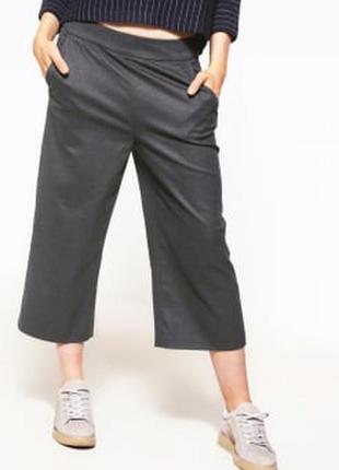 Юбка-брюки, кюлоты benetton, шерсть