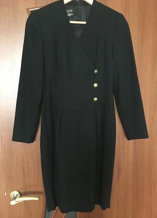 Лаконичное платье из натуральной шерсти gillian