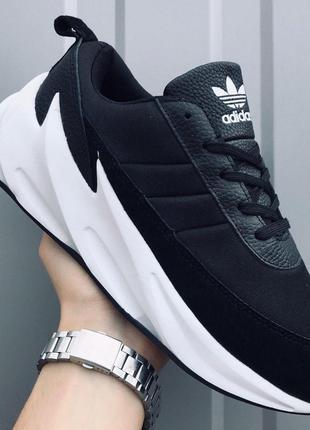 👉кроссовки мужские  adidas sharks black 🔥