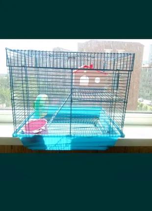 Клетка для грызунов хомяка