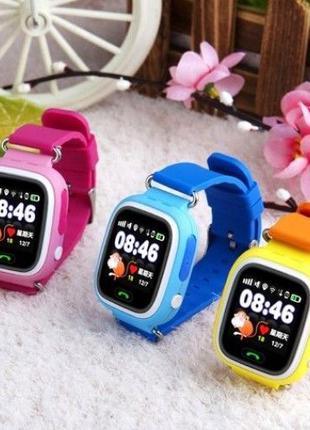 Детские Смарт часы с GPS Q90 Smart Watch умные часы сенсорные ...