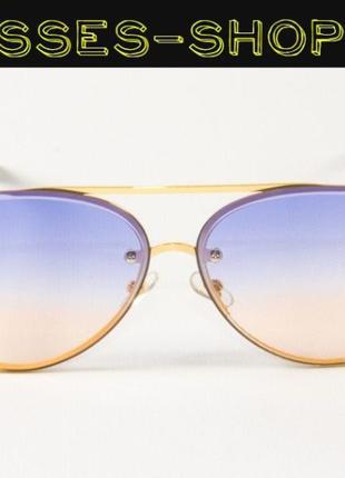 Женские солнцезащитные очки авиаторы Nobrand