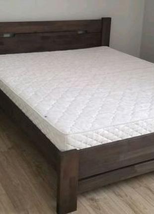 Кровать дерево бук массив ліжко 160х200