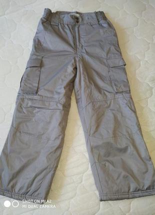 Новые! зимние штаны от george мальчику 6-7 лет