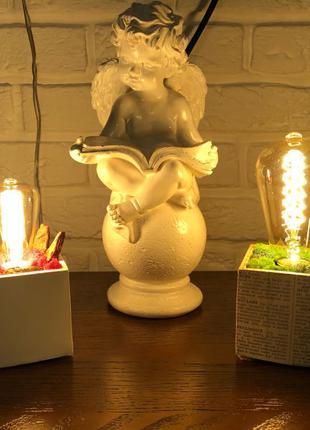 Світильник, нічник, лампа Едісона