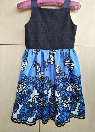 Нарядное платье bloome на 8 лет