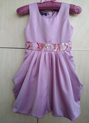 Нарядное платье baker на 7 лет