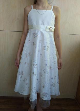 Нарядное длинное платье bress to impress
