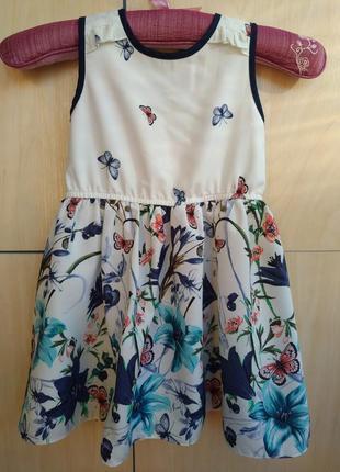 Платье nutmeg на 2-3 года