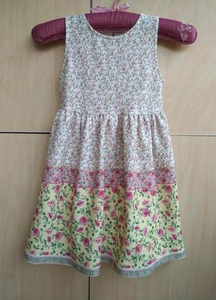 Платье nutmeg на 4-5 лет