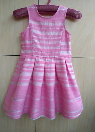 Нарядное платье george на 5-6 лет