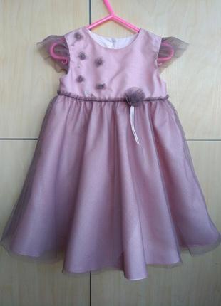 Нарядное платье mamas&papas на 1 год