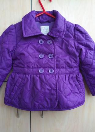 Куртка демисезонная стеганная est 1989 на 2 года