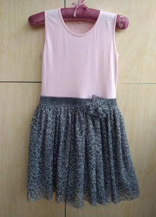 Платье m&s на 10-11 лет