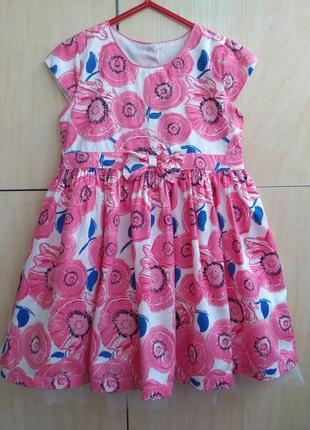 Платье matalan на 3-4 года