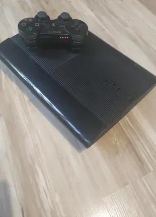 Sony Playstation 3 Super Sllim 500 gb +игры