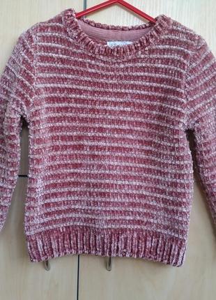 Трендовый свитер primark на 3-4 года
