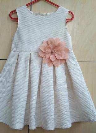 Нарядное платье y.d на 3-4 года