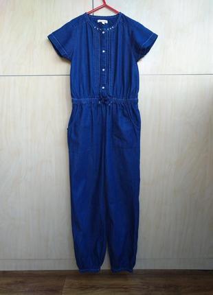 Джинсовый комбенизон bluezoo на 10 лет