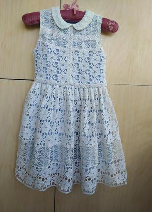 Красивенное нарядное платье matalan на 8 лет