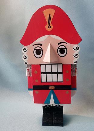 Деревянная кукла-орехокол Щелкунчик (из м/ф 1973 года)