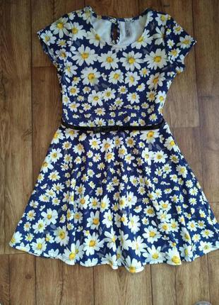 Стильное платье y.d на 10-12 лет