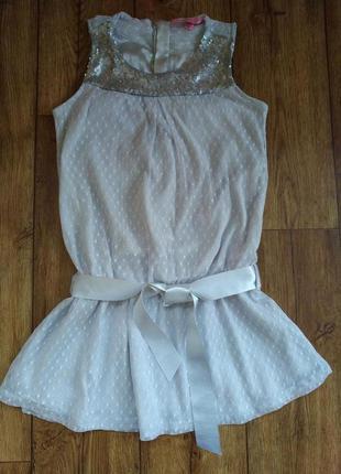 Оригинальное платье ovs на 8-9 лет